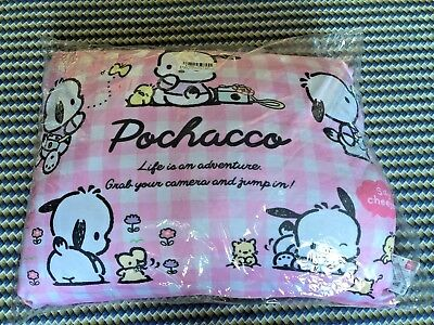 Sanrio Pochacco Mochi Extra Soft Pillow Cushion Pink Version 48cm Large