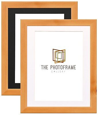 Picture Frames With Photo Mounts Pine Wood Effect Poster Frames Square Panoramic