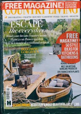 Country Living Magazine Issue September 2018 In Pack With Free Mag ~