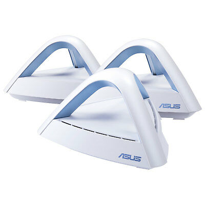 ASUS Lyra Trio Wireless AC1750 Dual-Band Gigabit Router - 3-Pack