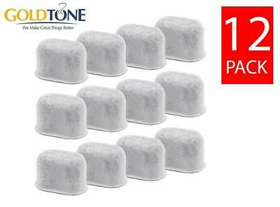GoldTone Replacement Water Filter Cartridges for Breville Coffee Makers 12 Pack