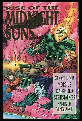Rise of the Midnight Sons Trade Paperback TPB Ghost Rider Morbius Nightstalkers