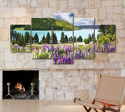 Lake View Collection Nature Photography Canvas Print Art Decor Wall