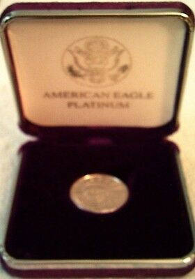 2008 $25 Platinum American Eagle Mint 1/4 troy ounce platinum uncirculated
