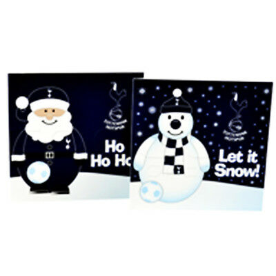 Tottenham Hotspur/ Spurs FC Official 10 Pack of Christmas Cards.