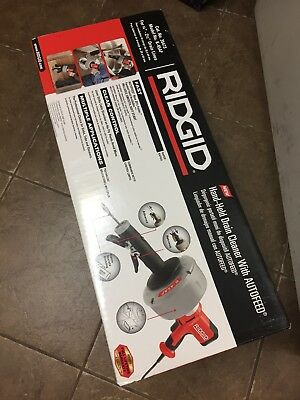 "Ridgid 115-V K-45AF Drain Cleaner W/C-1 5/16"" Inner Core Cable"