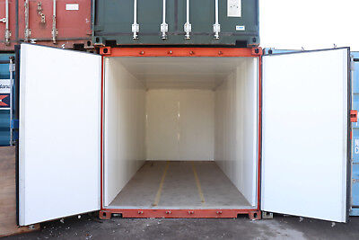 £2995 + vat 20FT INSULATED LINED SHIPPING STORAGE CONTAINER FURNITURE/ ARCHIVE