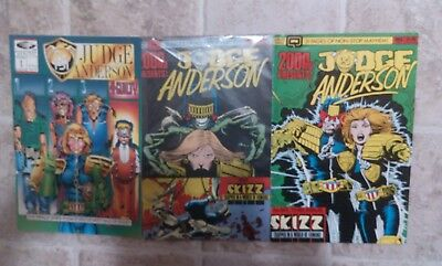 lot of 3 comics Judge Anderson PSI ( 2000AD)
