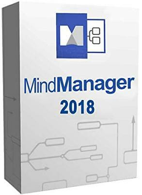 Mindjet Mindmanager 2018 Full Software - Download & License Instant Access