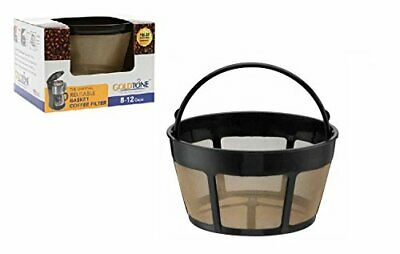 GoldTone Reusable 8-12 Cup Basket Coffee Filter for Hamilton Beach Coffee Makers