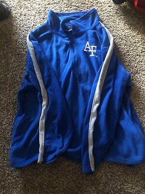 28f9da1ccb3 NCAA Football air force Academy Falcons fleece jacket Old Varsity brand  Size Xl