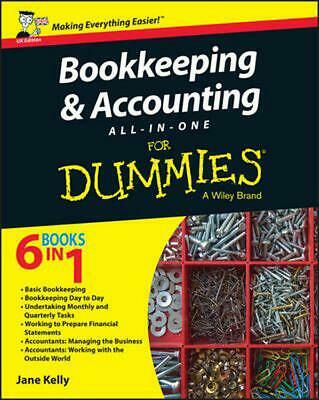 Bookkeeping and Accounting All-in-one for Dummies - Uk by Jane E. Kelly (English