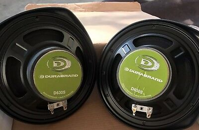 Duranbrand D630s Car Speakers Never Used