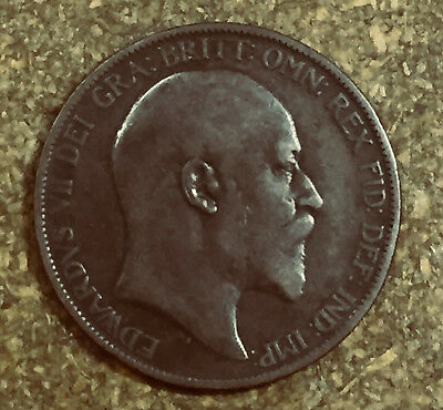 1903 Great Britain Penny - Free shipping to/from USA