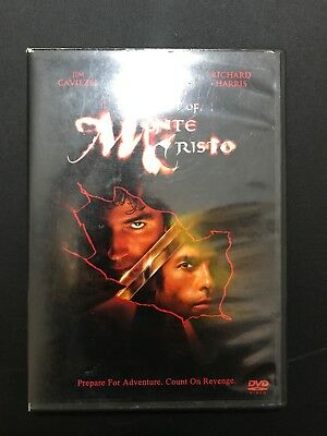 The Count of Monte Cristo (DVD, 2002)