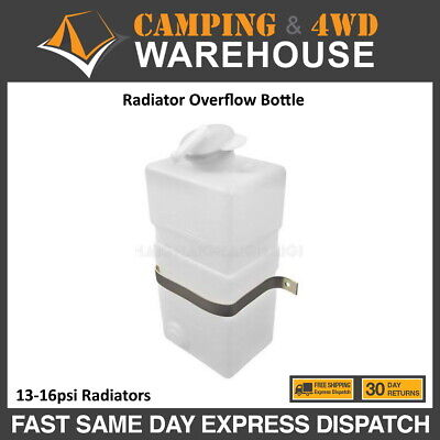 Radiator Overflow Bottle Reservoir Maintain Coolant Level For 13-16psi Radiators