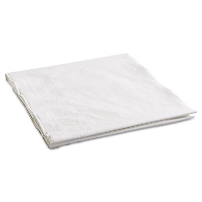 """Hoffmaster Cellutex Tablecover, Tissue/poly Lined, 54 In X 108"""", White, 25/carto"""