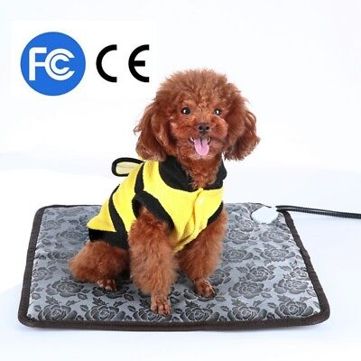 110V Pet Dog Electric Heated Pad Blanket Heating Cats Warm Beds Mat For Winter