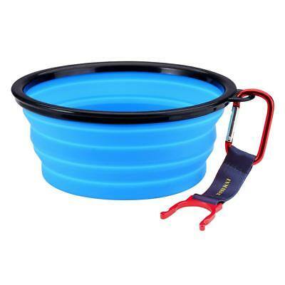 INMAKER Collapsible Dog Bowl, FDA Approved Silicone Pet Bowl for Dog Cat, BPA