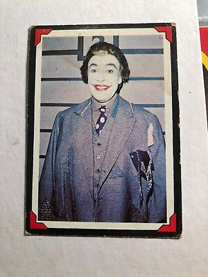 National Periodicals Trading Card #12 The Joker Batman Vintage Rare neat