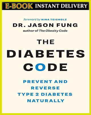 The Diabetes Code by Jason Fung 2018 { E-B00K | 'PDF' } | FAST Delivery |
