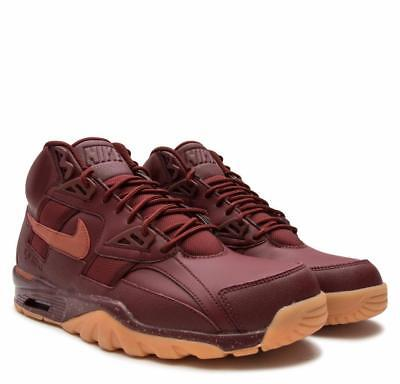 92c552ec3fd7e5 NIKE AIR TRAINER SC WINTER DARK RED DUSTY PEACH MEN S AA1120 600 Szs 8.5-10
