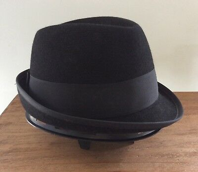 1950's Royal Stetson Pork Pie Fedora in Box - Made in Australia by Akubra