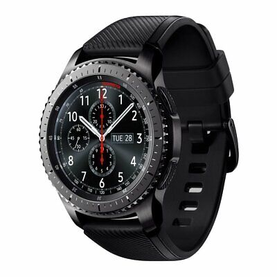 Brand New & Sealed Samsung Galaxy Gear S3 Frontier Smartwatch Space Gray
