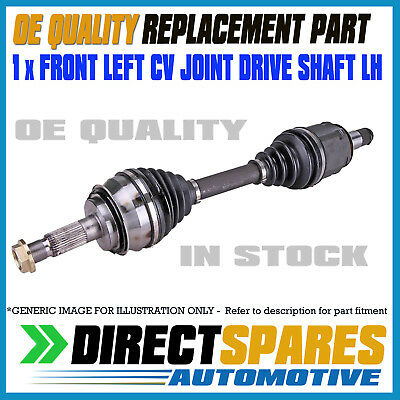 Hyundai Getz TB 1.5L MANUAL Hatch [2002- 12/2005] CV Joint Drive Shaft LEFT LH
