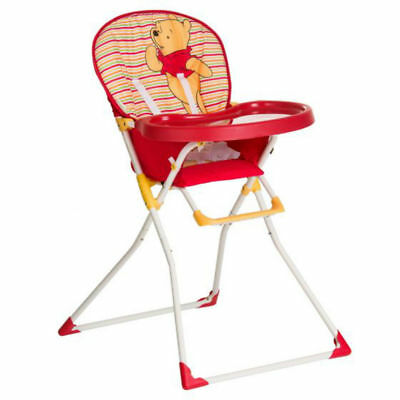NEW Hauck Disney Winnie the pooh Mac baby folding highchair Spring Bright Red