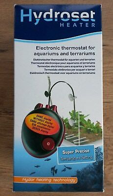Hydor Hydroset Heater Thermostat électronique pour aquarium ou terrarium TO3300