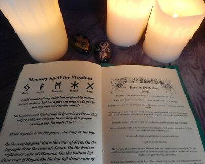 Spiral Goddess Book of Shadows Leather Book, 150+ Pages, Wicca, Witchcraft