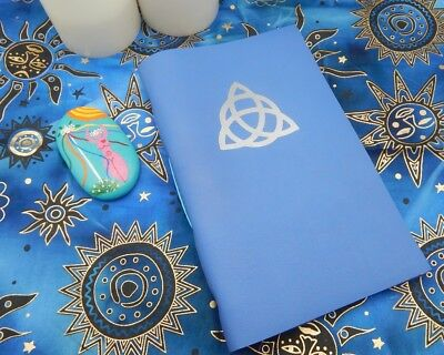 Correspondence Book of Shadows Leather Book, 150+ Pages, Wicca, Witchcraft