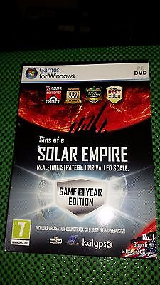 Sins of a Solar Empire  Game Of The Year Edition Pc DVD Rom Game