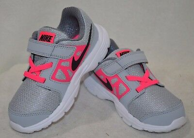 dc2bb761ab59 NIKE DOWNSHIFTER 6 (TD) Grey Black Pink Toddler Girl s Shoes - Size 5 6 7 8  9 10 -  29.99