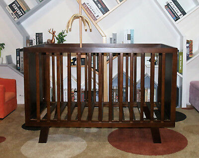 Brand New modern Sapphire Baby Cot / Bassinet / Cotbed from The Baby Palace