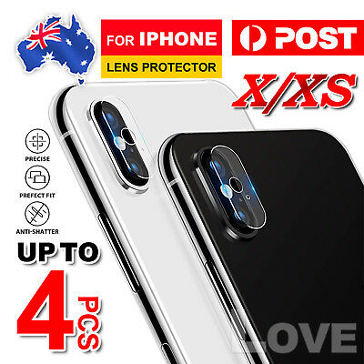 For Apple iPhone XS Max XR X 8 Plus Camera Lens Tempered Glass Screen Protector