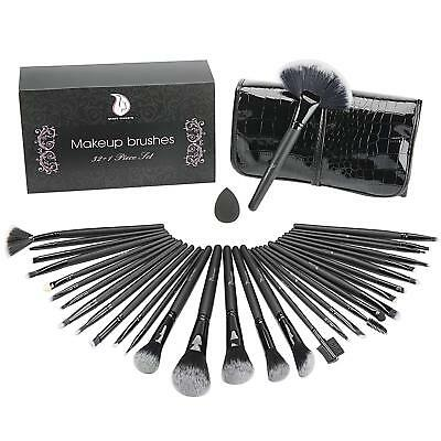 USpicy US-MB03 Makeup Brushes Cosmetics Professional Essential 32-Piece Make Up