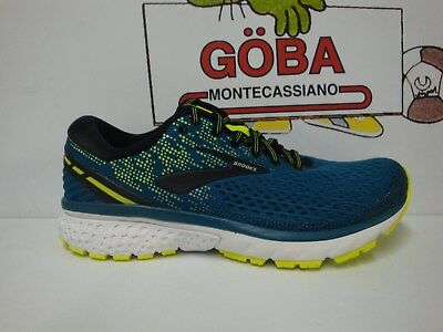 Brooks Ghost 11 Men's Pianta Media Blue/black/nightlife