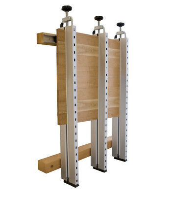 Panel Max Clamp System - timber panels, tables,