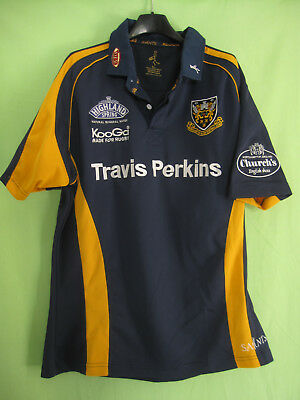 Maillot Rugby Northampton Saints Travis Perkins vintage jersey Shirt - XL