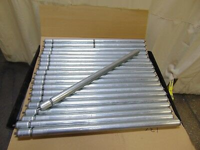 """20 New Hytrol 39"""" Replacement Gravity Conveyor Rollers 1.9"""" ABEC-1"""