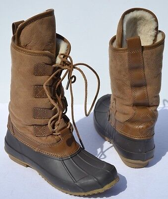 4942225132e TORY BURCH ARGYLL Lace Up Winter Snow Boots Size 6 -  69.00