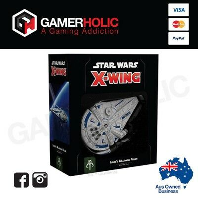Star Wars X-Wing 2nd Edition Lando's Millennium Falcon Expansion Pack Brand New