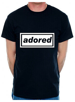 Personalise Your Own Mens T-Shirt Adored You Choose The Name Word Song Album