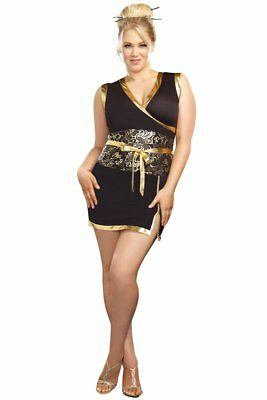 Plus Size Geisha Girl Halloween Costume