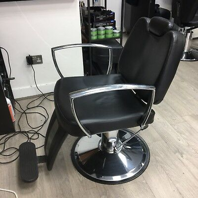 Job Lot - 4 x Barber Chairs (Varying Conditions - Please See Pictures)