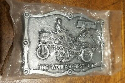 Worlds First Elgin 1914 Limited Edition Made in USA Vintage Belt Buckle t37 New.