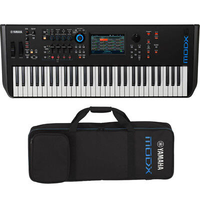 Yamaha MODX6 61-Key Semi-Weighted Action Keyboard Synthesizer W/ Free Bag *New*