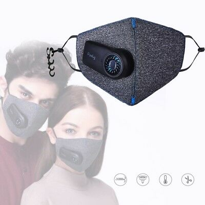 New Xiaomi Purely Air Mask PM2.5 Rechargeable Dust Anti-Pollution Smart Filter
